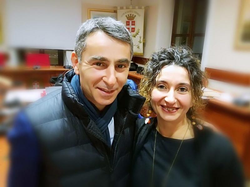 l'assessora Grimaldi, l'assessore regionale allo sport Giovanni Maria Ferraris