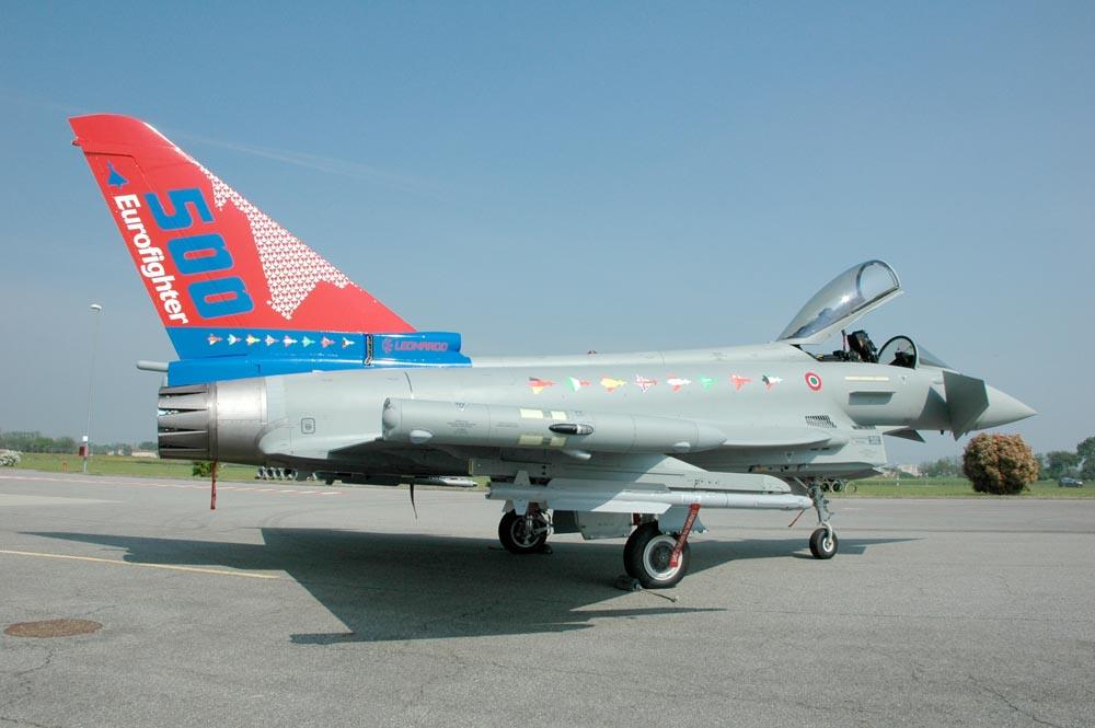 Colori speciali per il 500° Eurofighter