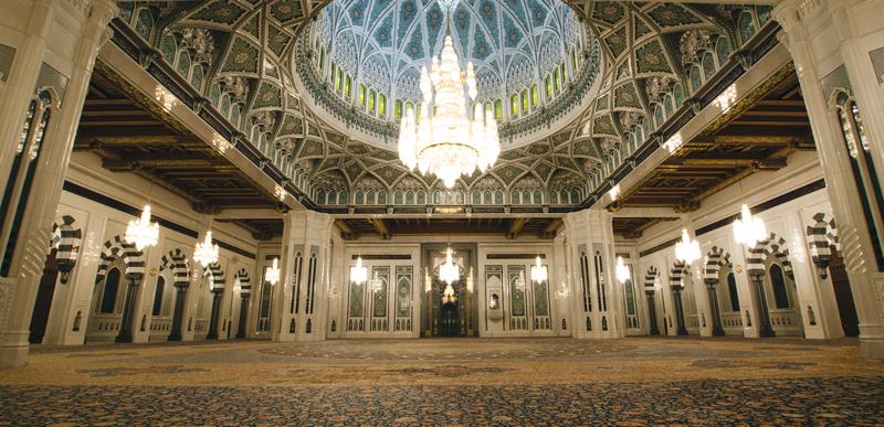 qaabos moschea interno
