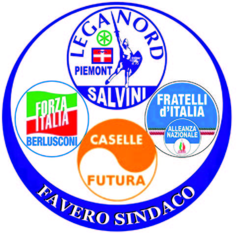 PDL - LEGA - CASELLEFUTURA - FRATELLI D\'ITALIA