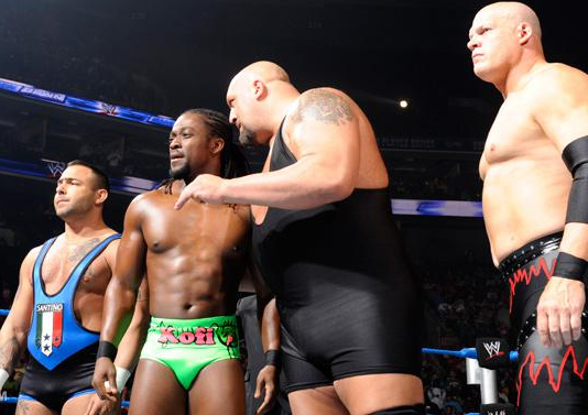 Eight-Man-Tag-Team-2-out-of-3-Falls-Match-Big-Show-Kane-Kofi-Kingston-Santino-Marella-vs.-The-Corre-1-2