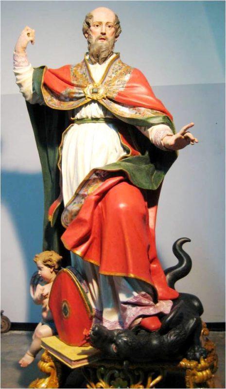 sveti Hipatij - škof in mučenec